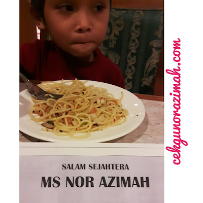 food review, hotel armada pj, irfan hensem