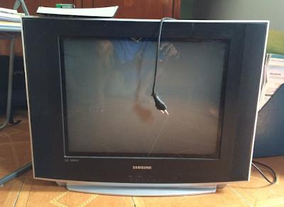 Kerusakan TV Samsung slim dniejr