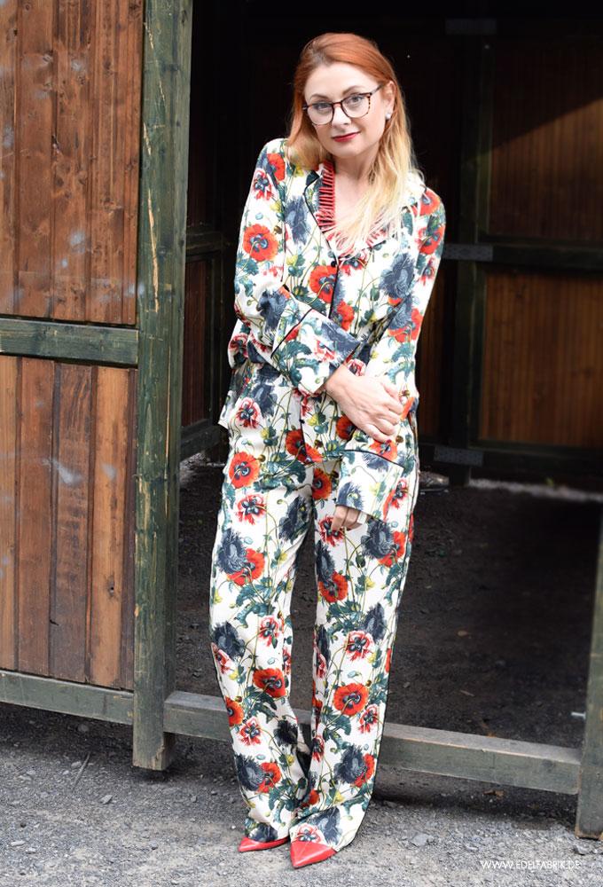 Streetstyle mit Pyjama, Moder für Frauen über 40