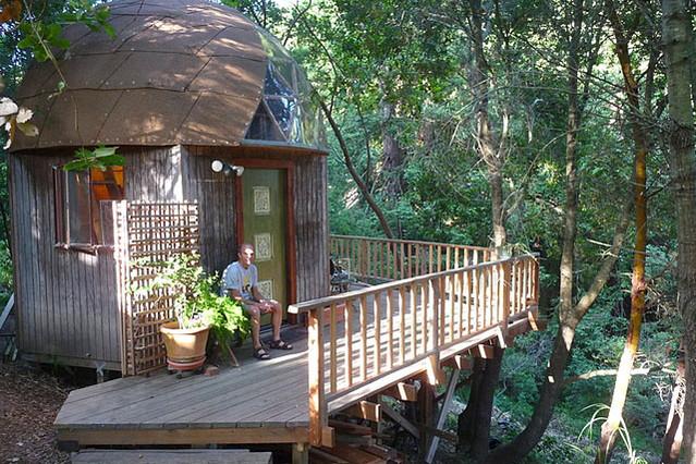 Relaxshacks A Mushroom Dome House Inn Aptos Ca