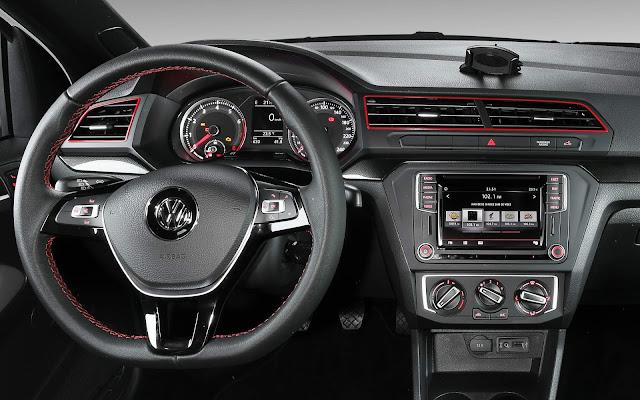 VW Saveiro 2018 Pepper - painel