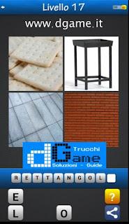 PACCHETTO 2 livello 17 - Soluzioni Trova la Parola - Foto Quiz con Immagini e Parole