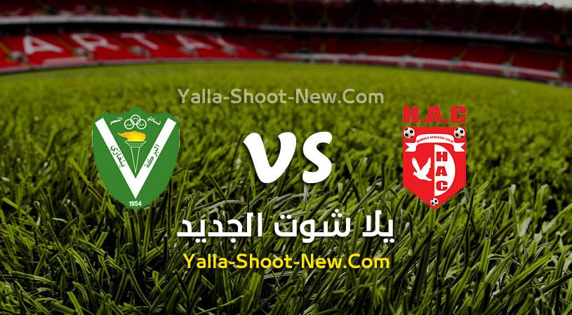 مباراة حوريا والنصر الليبي