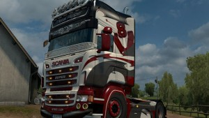 Scania RJL Metal Ripper Skin