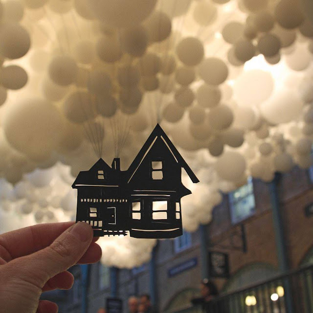 Amazing pictures, A Rich McCor with Paper Cutouts