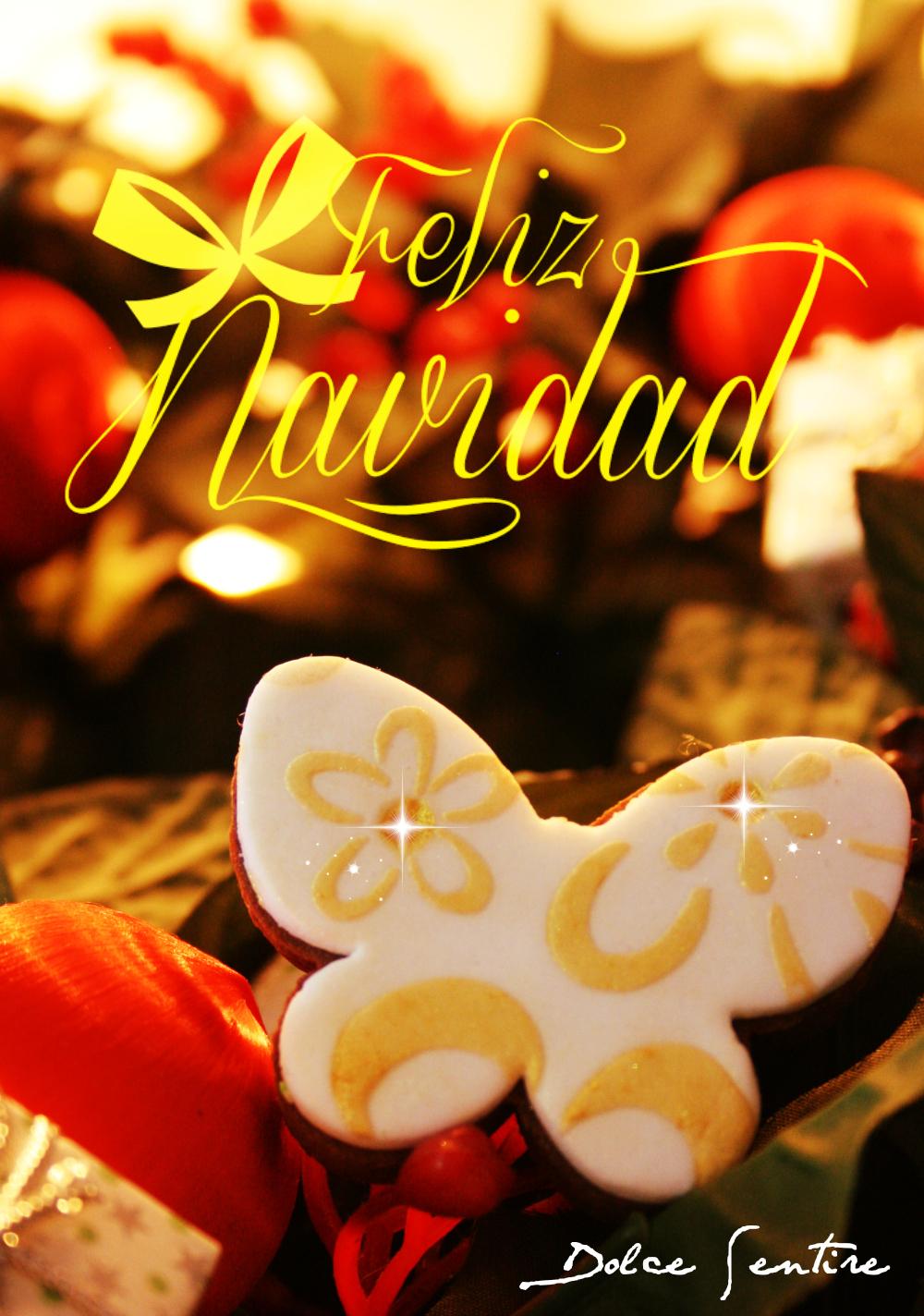 galletas de ¡Feliz Navidad!