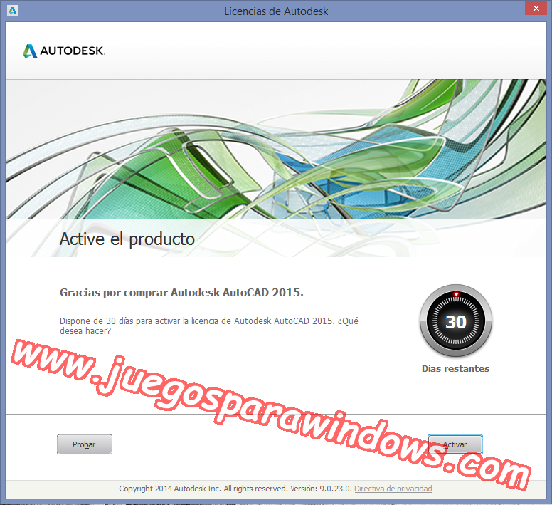 AutoCAD 2015 Full PC ESPAÑOL INGLES 32 y 64 Bits (XFORCE) 9
