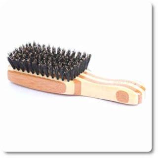 17 Bass Brushes 100 percent Wild Boar Bristle Classic Men's Club Style Hair Brush