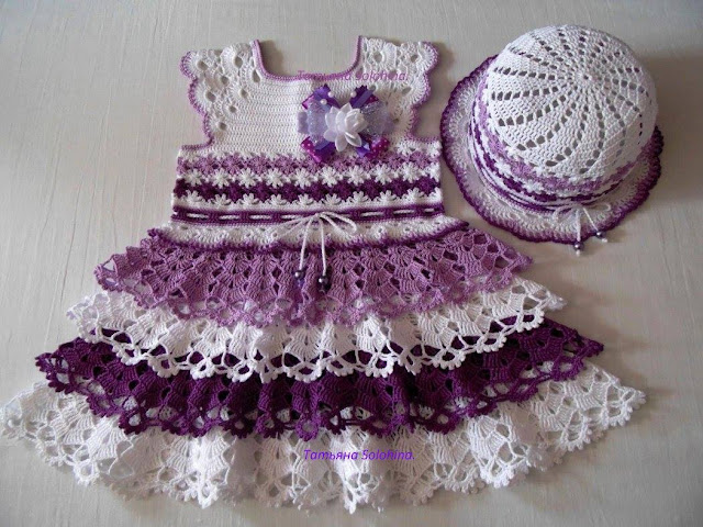 Crochet Dress for Baby (Complete Step-by-Step)