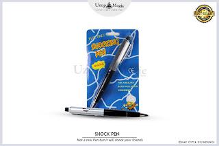 Jual alat sulap shock pen - uzop magicshop