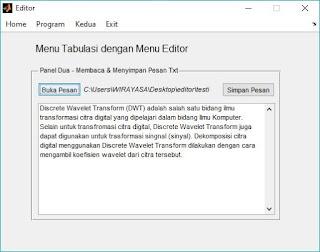 Membaca dan Menyimpan File .txt dengan MATLAB