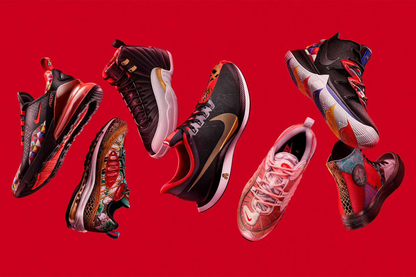 Nike Officially Unveils the 2019 Chinese New Year Collection 92dec81146