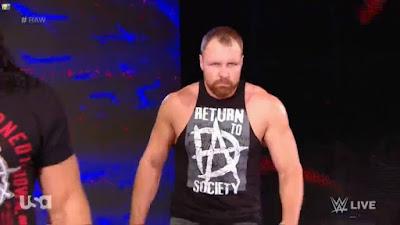 Dean Ambrose Raw return revealed !!