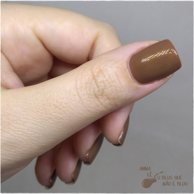 Cara de Ryca The Fusion Esmalte Nailpolish Marrom Brown Shimmer