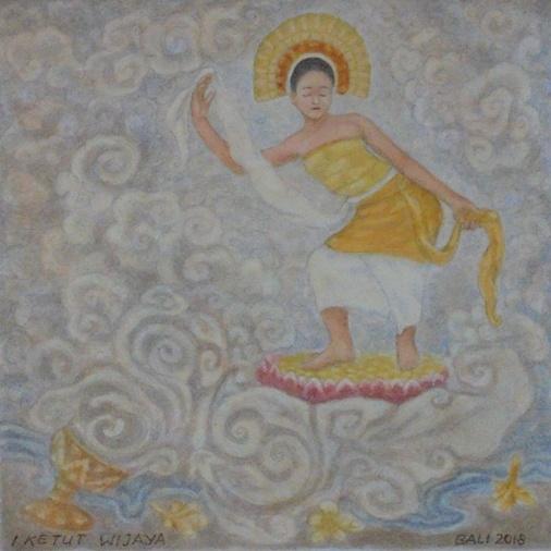 Sanghyang Dedari Trance Dance, Sang Hyang Dedari Dance, Tari Sanghyang Dedari Bali