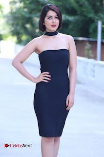 Actress Raashi Khanna Latest Pictures in Black Short Dress  0004
