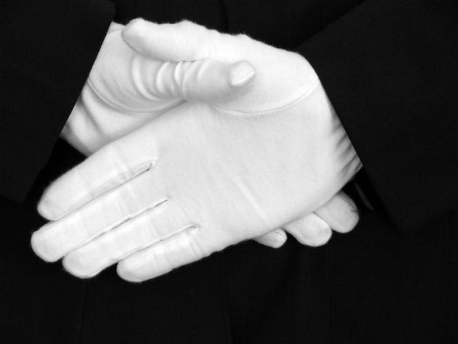 Black History Facts Why Ushers Wore White Gloves The Old Black