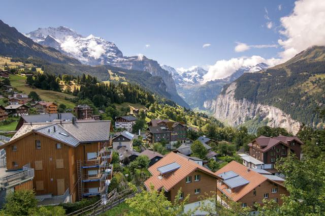 Ngôi làng trên đồi Wengen
