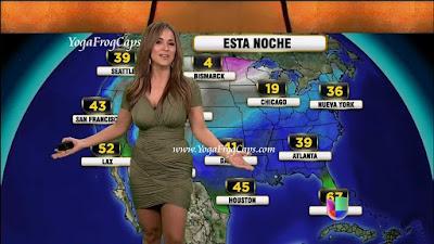 Nyeleneh, Presenter Prakiraan Cuaca Paling Seksi Di Dunia