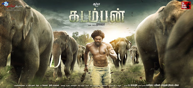 Arya's Kadamban First Look Poster