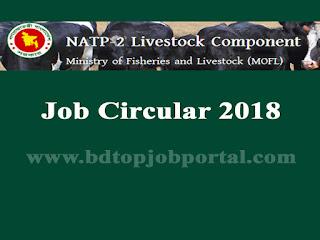 NATP-2 Livestock Component Job Circular 2018
