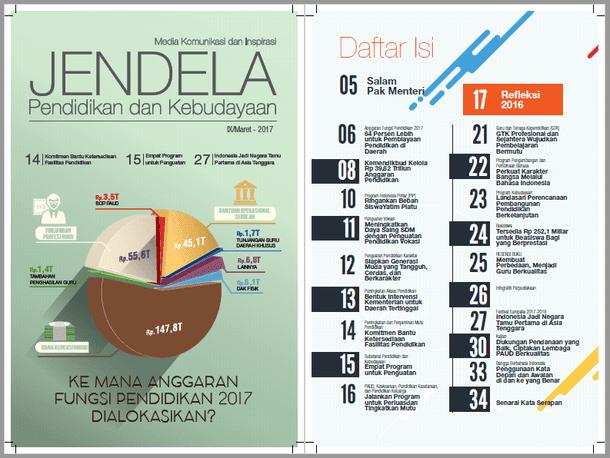 Majalah Jendela Dikbud Edisi IX Tahun 2017