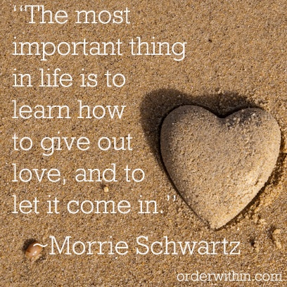 learn to give love