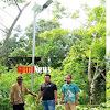 Warga Desa Pattopakang Berterima Kasih Pada Pemerintah Dengan Lampu Jalannya