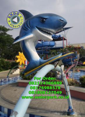 Patung Lumba Lumba Fiberglass