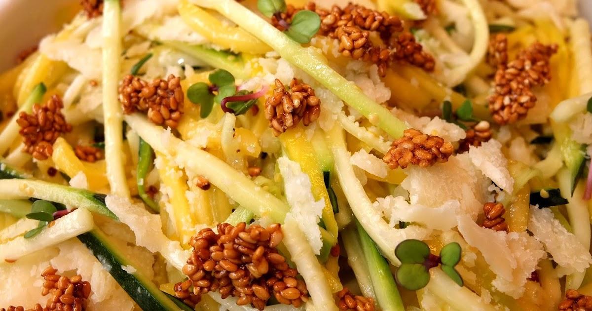 Cocinando con lola garc a ensalada de mango y calabac n for Cocinar con mango
