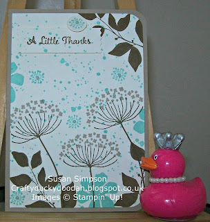 Stampin' Up! Susan Simpson Independent Stampin' Up! Demonstrator, Craftyduckydoodah!, Summer Silhouettes, Gorgeous Grunge, One Big Meaning,