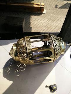 LAMPU GANTUNG MAROKO,LAMPU GANTUNG,BERKAH TEMBAGA,HASLIAN BERKAH TEMBAGA