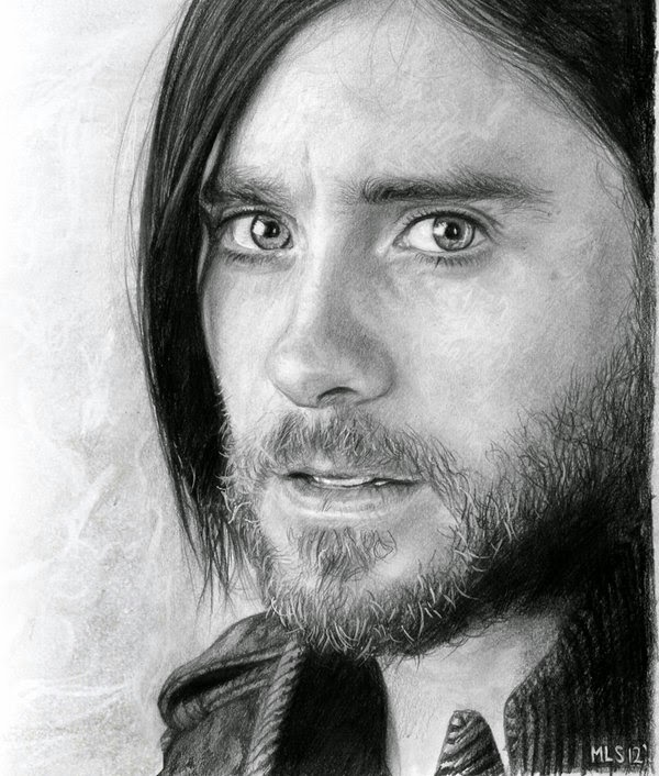 20-Jared-Leto-Martin-Lynch-Smith-MLS-art-Celebrity-Drawings-www-designstack-co