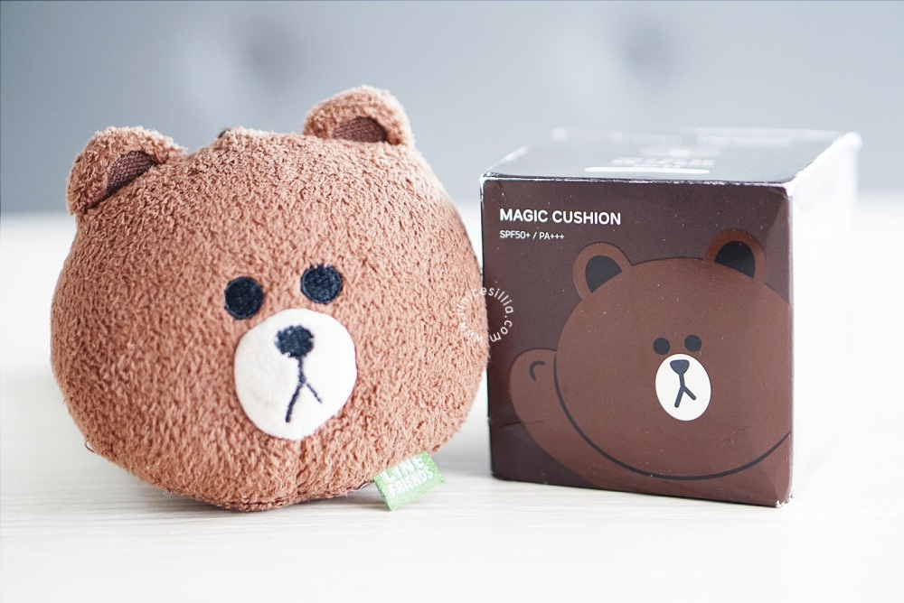 MISSHA X LINE FRIENDS M MAGIC CUSHION REVIEW INDONESIAN BEAUTY BLOGGER