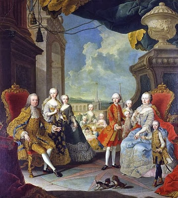 The Imperial Family by Martin van Meytens, 1754