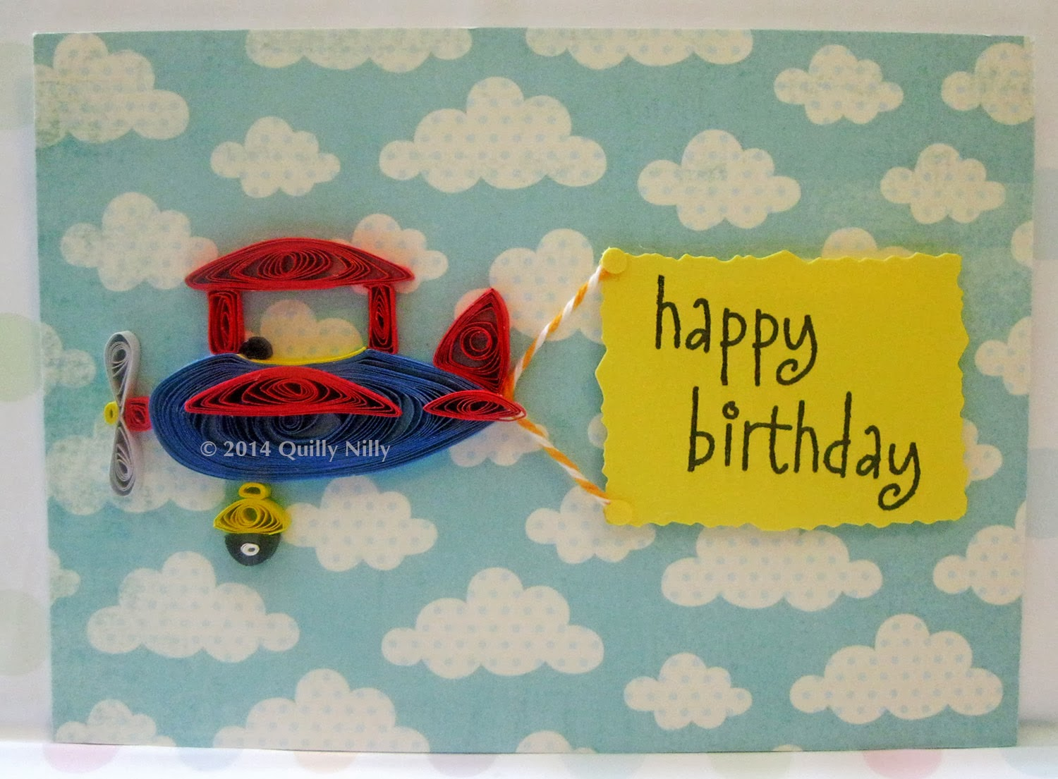 Quilly Nilly Children S Birthday Card Order
