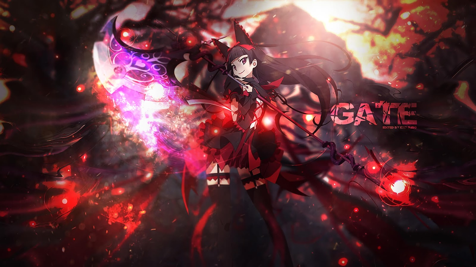 Download Gate: Jieitai Kanochi nite, Kaku Tatakaeri [BD] Sub Indo : Episode 1-12 END
