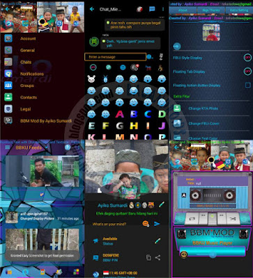 BBM Mod BBKu Terbaru Versi 3.0.1.25 Apk New Style + Emoticons