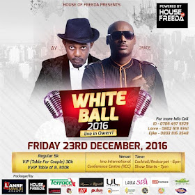 AY and 2face set for White Ball 2016 live in Owerri_2