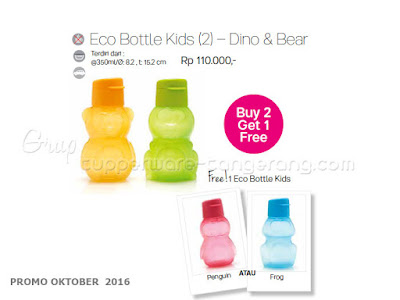 ECo Bottle Kids Dino Bear ~ Tupperware Promo Oktober 2016