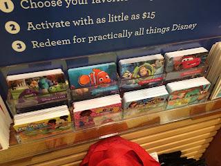 pixar gift cards