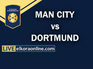 Live Streaming Manchester City vs Borussia Dortmund ICC 2018