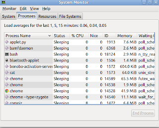Nepthya: Gnome: System Monitor Application To Kill a Process