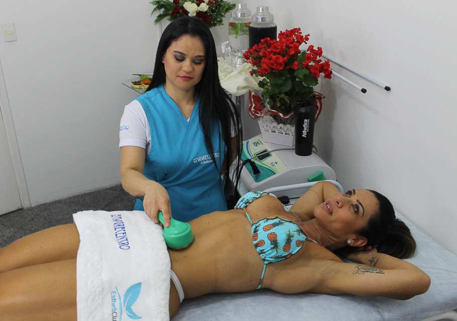 A lipocavitação ajuda a reduzir as células de gordura localizada. Foto: Renato Cipriano/Divulgação