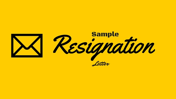Sample Resignation Letter  A Free Resignation Template