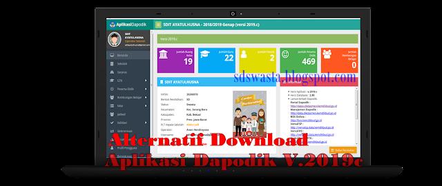 Download Alternatif Aplikasi Dapodikdasmen Versi 2019c