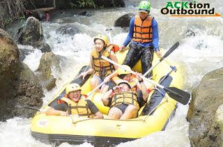 Paket Arung Jeram / Rafting Bogor, Cisadane