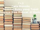 Berikut Cara Menulis Resensi Buku yang Baik Supaya Bisa Dimuat di Puluhan Media