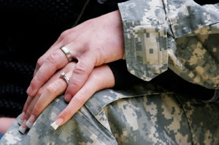 The pains of military wives on deployment