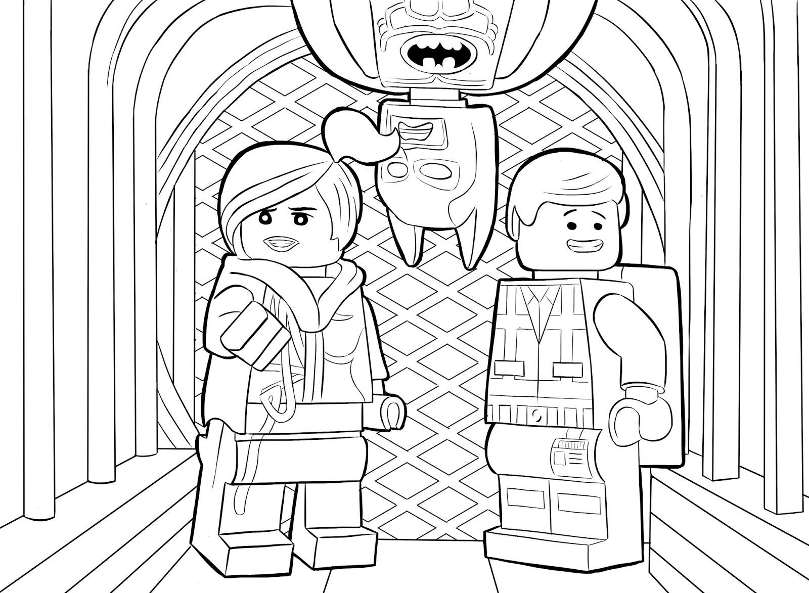 Desenhos Para Colorir E Imprimir: Desenhos Da Lego Para
